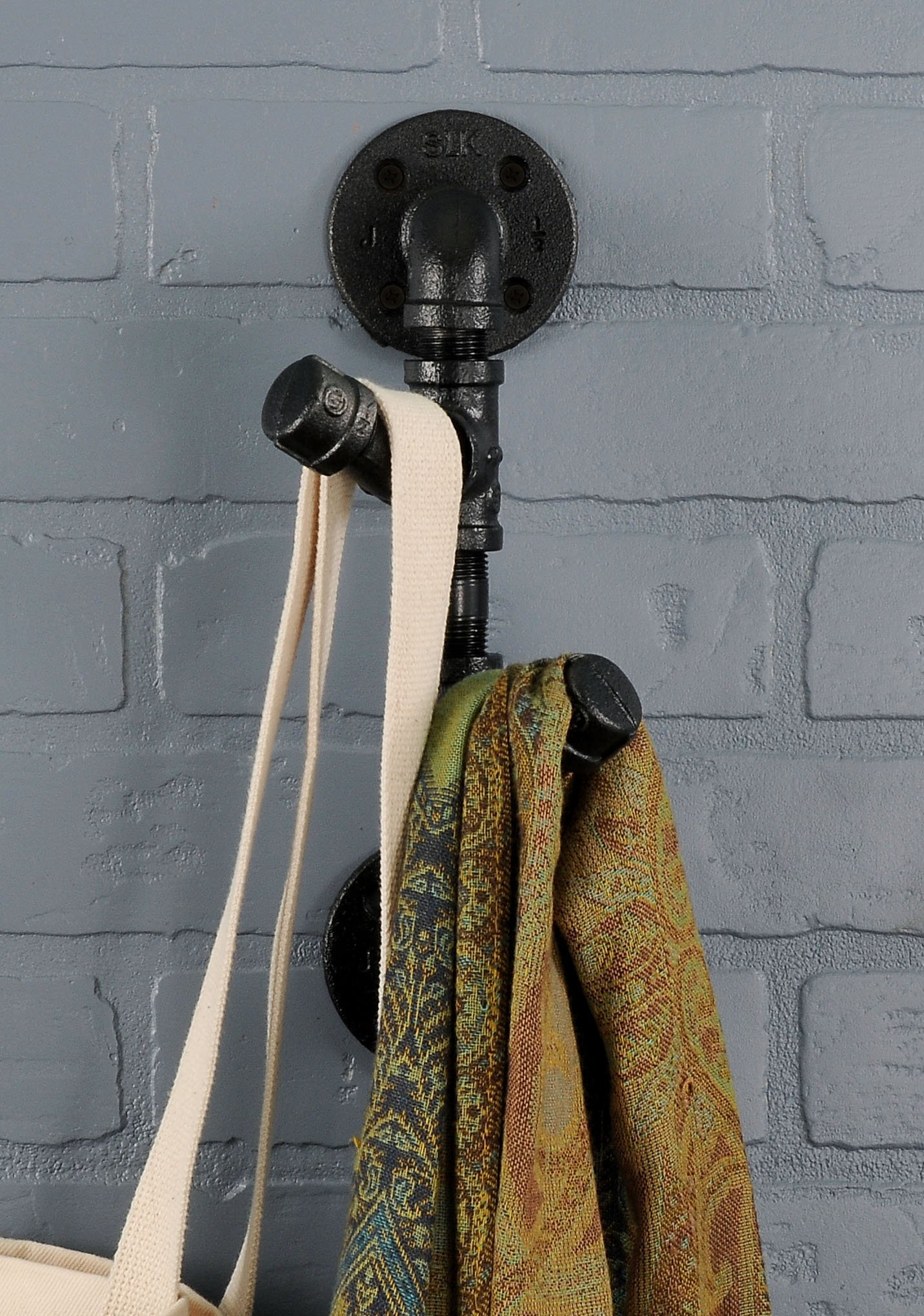 Rustic Industrial Pipe Toilet Paper Holder by Pipe Decor   Heavy ...