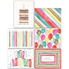 product image: Watercolor Bulk Birthday Cards Assortment – 48pc Bulk Happy Birthday Card with Envelopes Box Set – Assorted Blank Birthday Cards for Women, Men, and Kids in a Boxed Card Pack