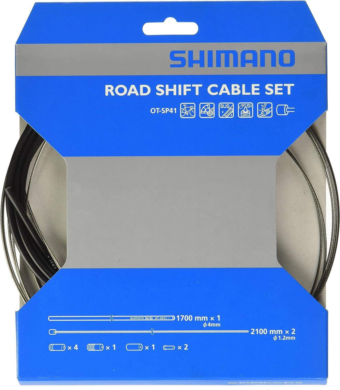 Shimano Y-60098022 - Cable Cambio/funda/topes Ctra.a.inox Neg ...
