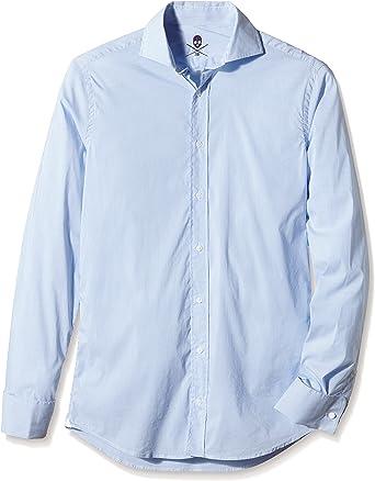 Scalpers Madrid Italian Shirt 01 Camisa, Blue, 38 para Hombre: Amazon.es: Ropa y accesorios