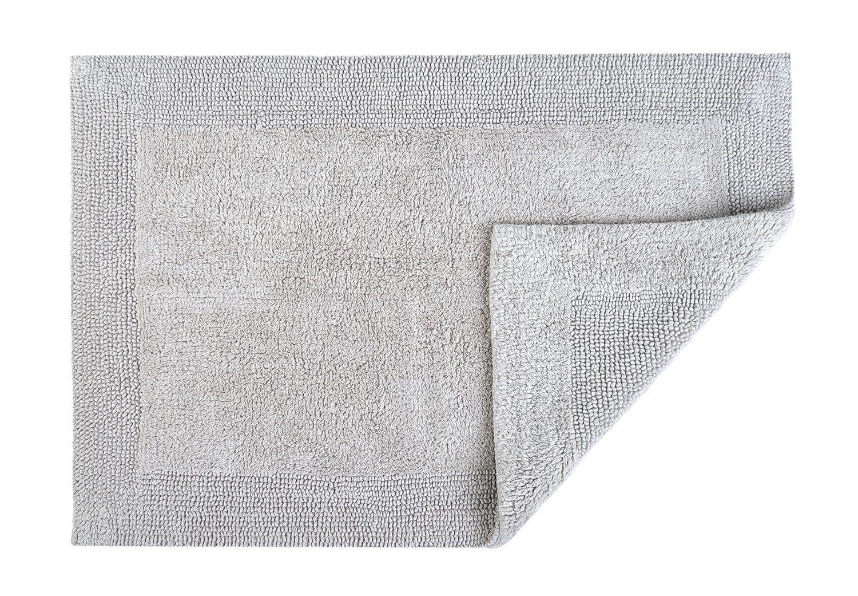 Spa toallas Plata Gris Ropa de baño (mano, baño, hoja, alfombra de baño), algodón, plateado, alfombra de baño: Amazon.es: Hogar