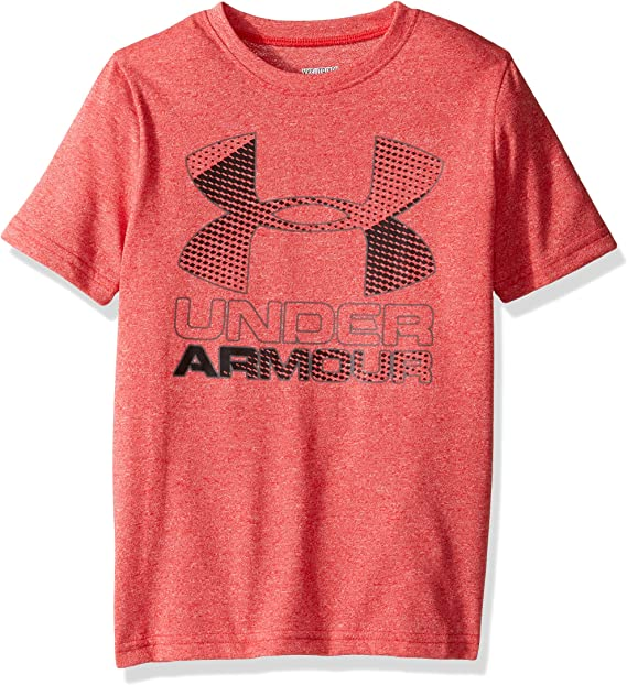 Under Armour Boys Hybrid Big Logo T-Shirt Under Armour Apparel 1290097