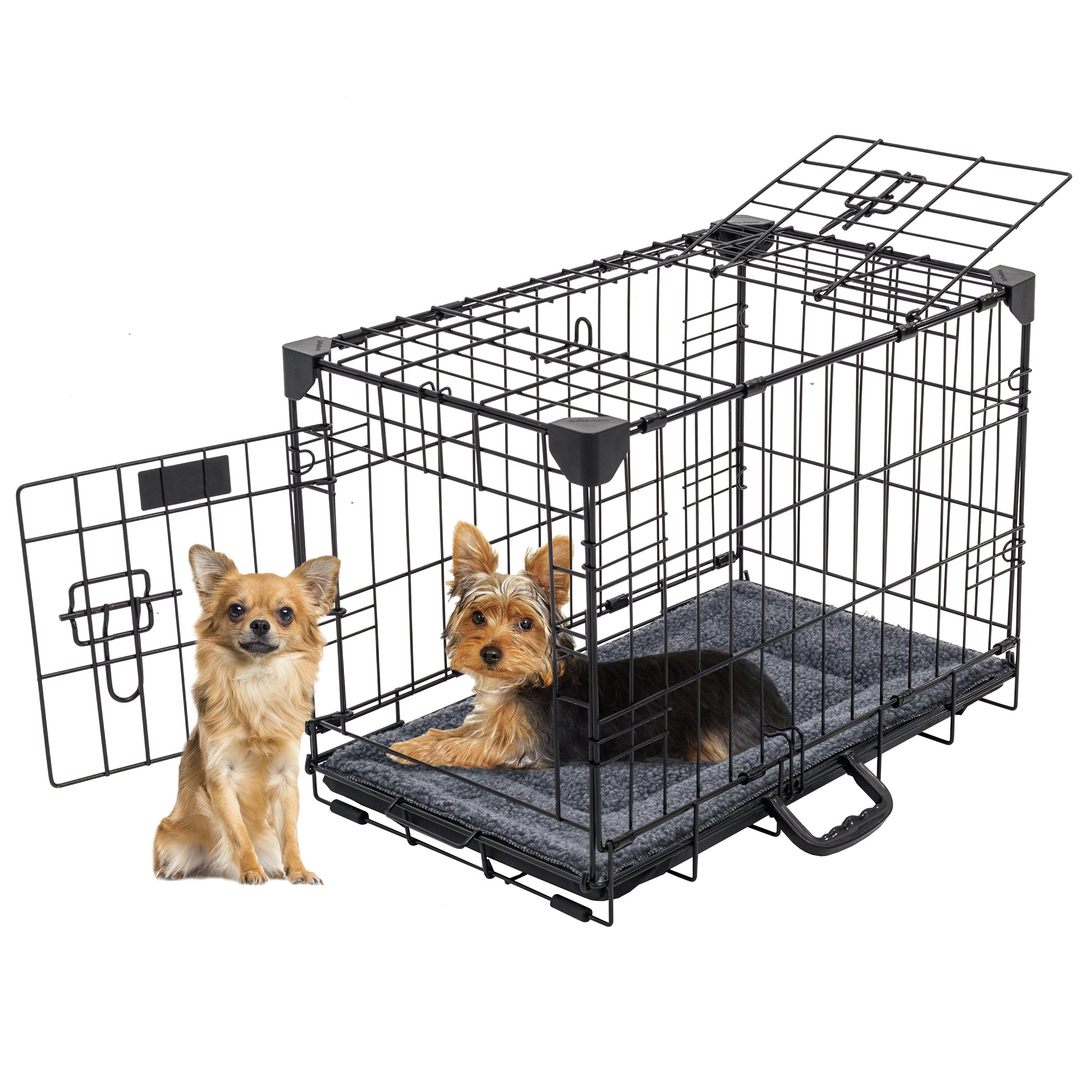 Lucky Dog Training Crate with Stabilizers, 22'' x 13'' x 16''