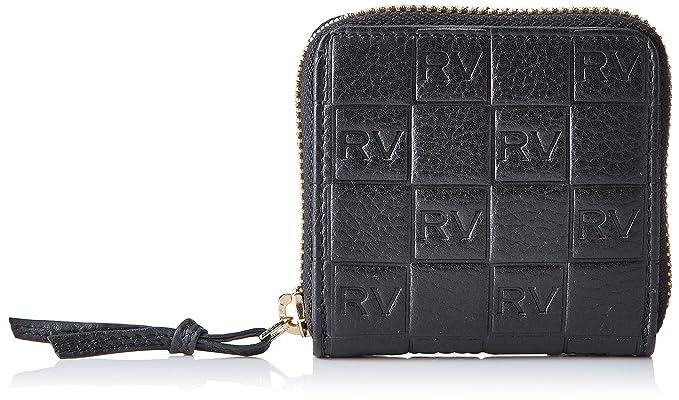 Roberto Verino Monedero piel vacuno para mujer, color negro (black 99), talla única: Amazon.es: Ropa y accesorios