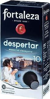 Café FORTALEZA - Cápsulas de Café Despertar Compatibles con Nespresso - Pack 1 x 10 -