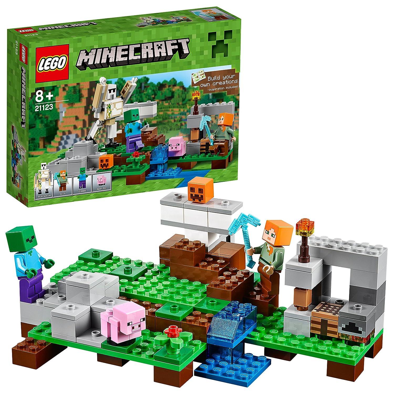 LEGO Minecraft 21123 - Der Eisengolem B013GYABXW Bau- & Konstruktionsspielzeug Haltbar | Gewinnen Sie das Lob der Kunden