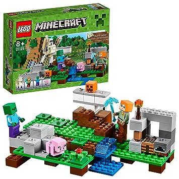 Lego Le Golem Minecraft Jeu De 21123 Fer Construction pLjUzqVMGS