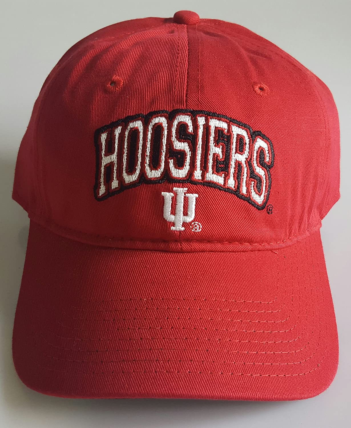 New Indiana Hoosiers Embroidered Adjustable Buckle Back Cap   B079D3R9LP