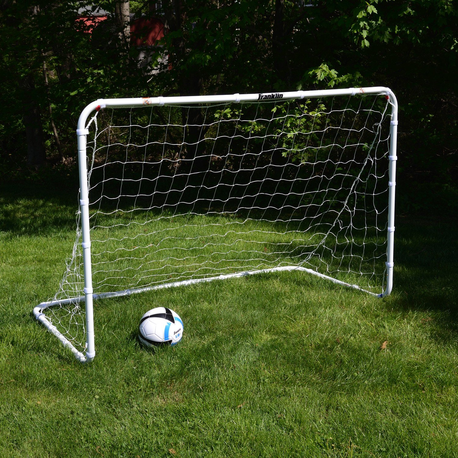 Franklin Sports Competition Soccer Goal – Soccer Net – Soccer Goal for Backyard – Steel Construction – 6 Ft by 4 Ft by Franklin Sports (Image #3)