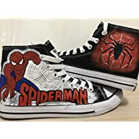 8d0eaf128843bc Spider Man High Top Sneakers For Women Hand Painted Shoes Custom Chuck  Taylors Chuck Taylor High