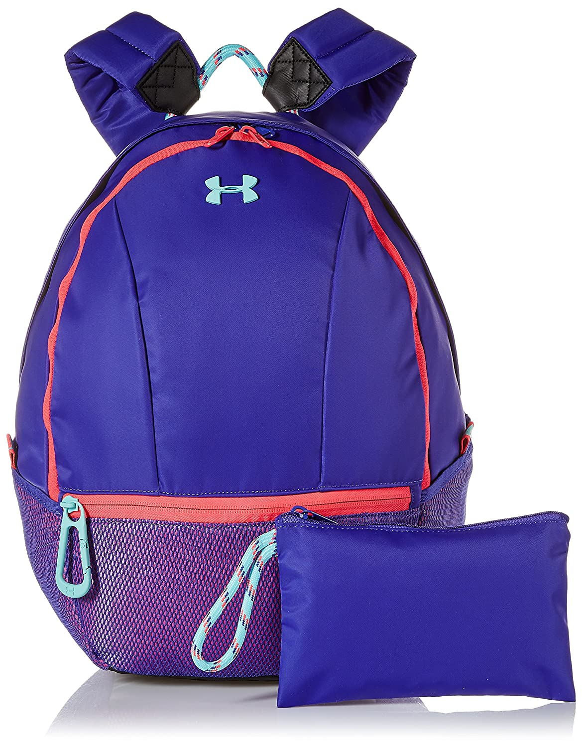 Under Armour Girls Downtown Backpack Black (001)/Penta Pink One Size Under Armour Bags 1305313