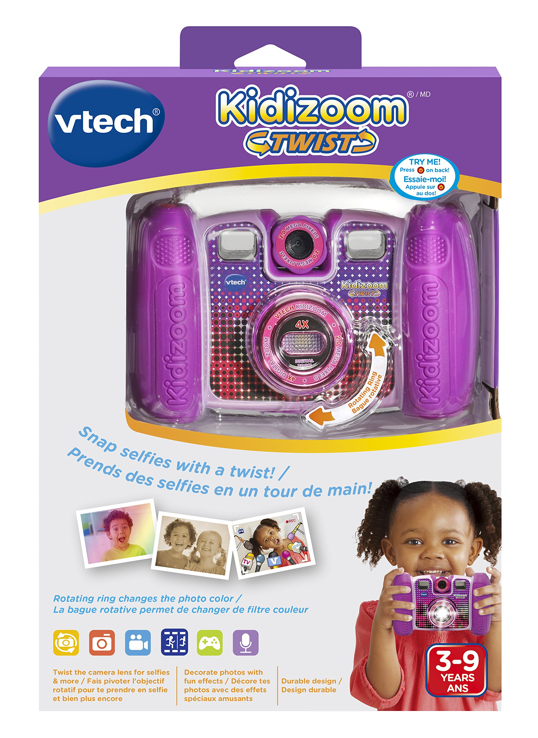 VTech Kidizoom Twist Connect Camera, Purple by VTech (Image #6)