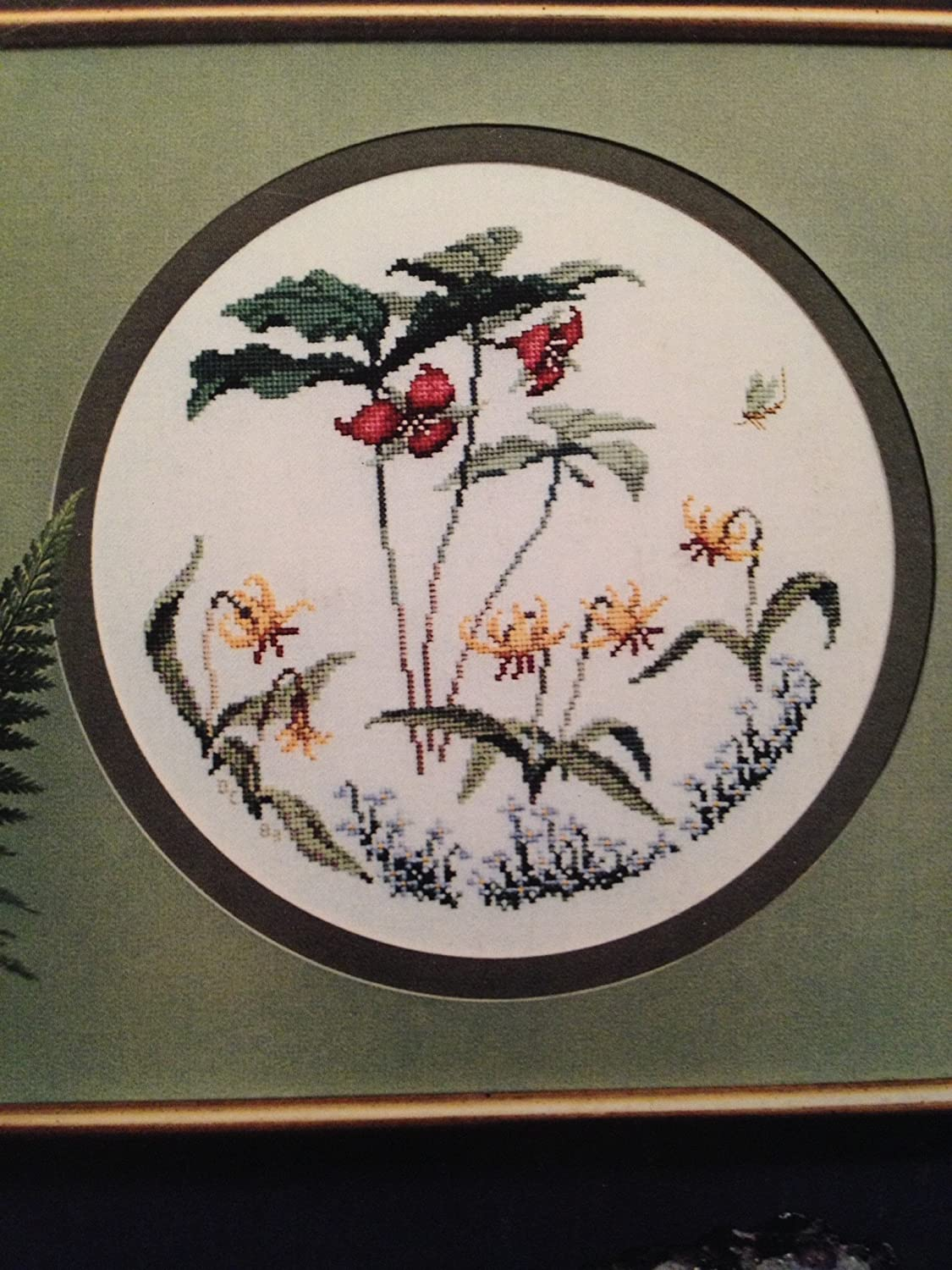 Charted Design for Needlepoint and Cross Stitch Series 2 Wildflower Tapestry