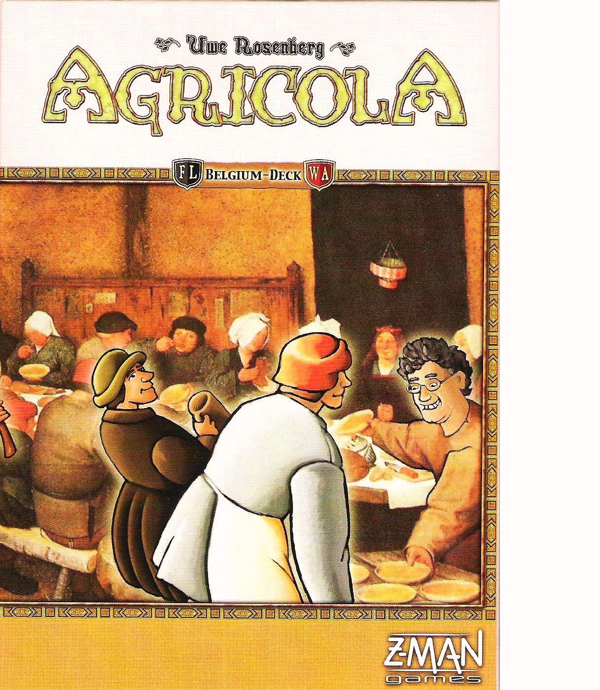 Agricola Belgium Deck: Amazon.es: Juguetes y juegos