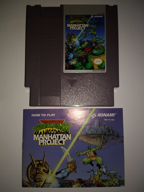 Amazon.com: Teenage Mutant Ninja Turtles III, The Manhattan ...