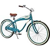 Columbia Superb 5 Star, 26-Inch Men's Retro Beach Cruiser Bike, Teal