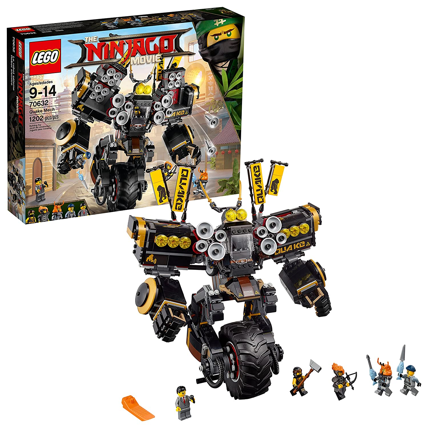 LEGO Ninjago Movie Quake Mech 70632 Toy 6210202