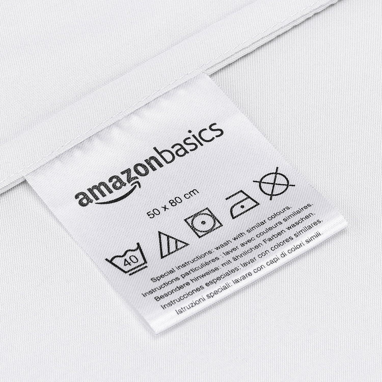AmazonBasics - Juego de fundas de edredón y de almohada de ...