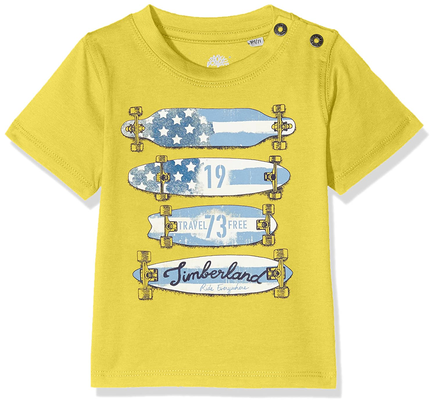 Timberland Baby Boys' Tee-Shirt Manches Courtes T T05G91