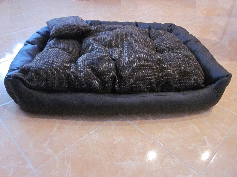 Hansa-shop Large Dog Bed imitation leather 100x80x25cm   39,40 x31,50 x9,8 inch