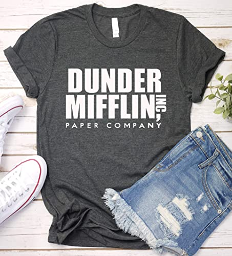 f342fe30 Image Unavailable. Image not available for. Color: Dunder Mifflin Paper  Company Shirt, The Office, Funny Saying T-Shirt ...