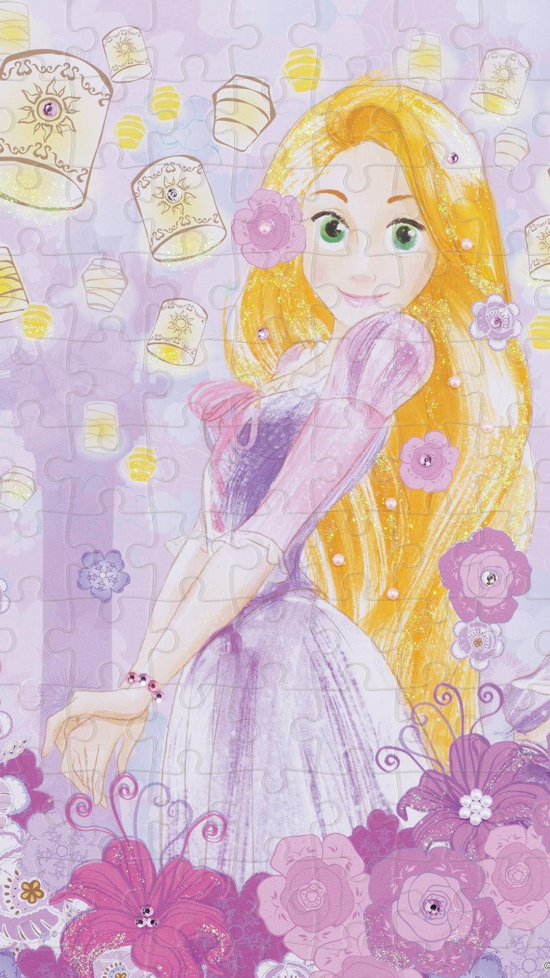 ディズニー 塔の上のラプンツェル Rapunzel (ラプンツェル) フルHD(1080×1920)スマホ壁紙/待受 画像71722 スマポ