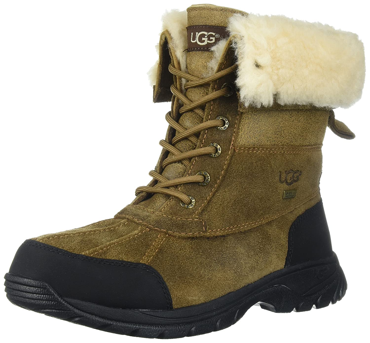 Uggs leather bomber boots