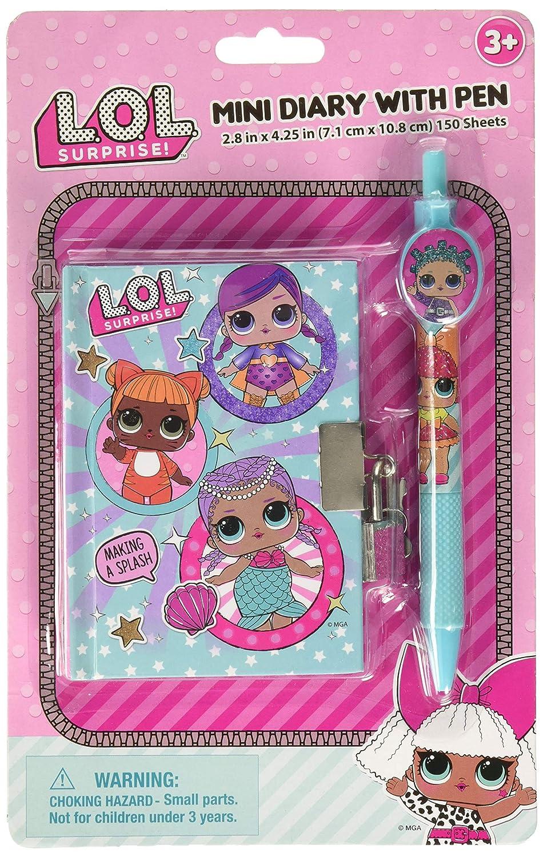 Amazon.com: Lol sorpresa Mini – Agenda con bolígrafo: Toys ...