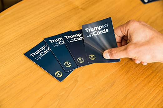 Donald Trump Parody Trumped Up Cards Card Game for People with Big Hands Games
