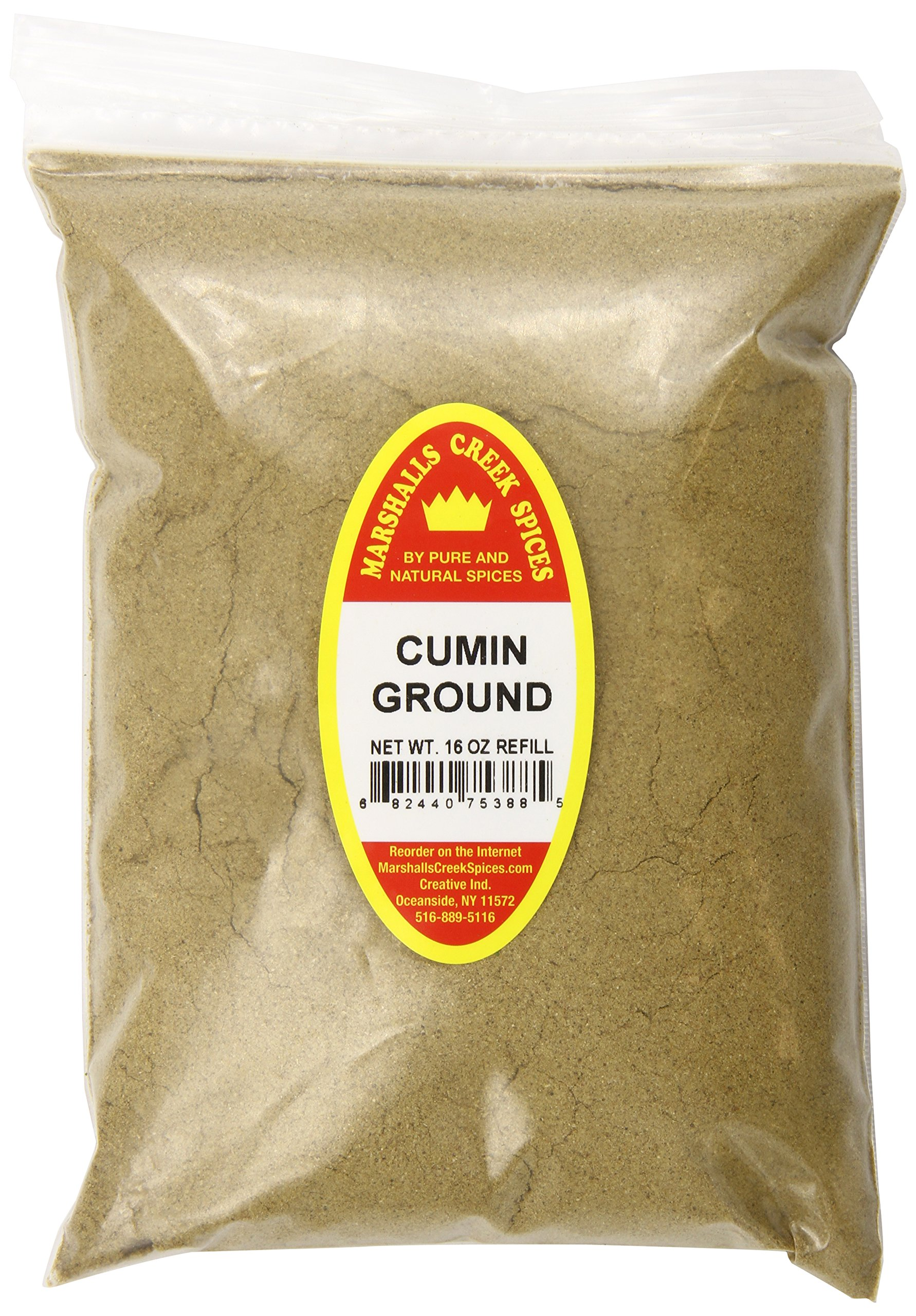 Marshalls Creek Spices X-Large Refill Cumin, Ground, 16 Ounce