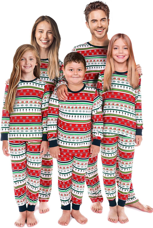 Matching Family Pajamas Set Matching Christmas Pjs For Couples Men Women Kids Holiday Sleepwear Women L At Amazon Women S Clothing Store