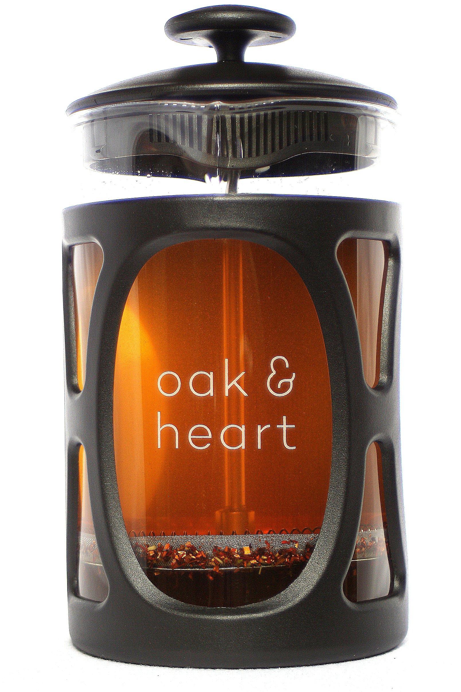 Oak & Heart French Press - Best Coffee Tea & Espresso Maker by oak & heart