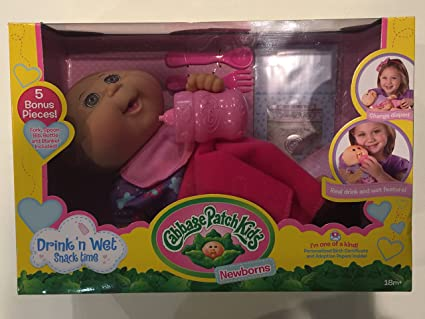 CABBAGE PATCH KIDS NEWBORNS DRINK N WET boy or Girl