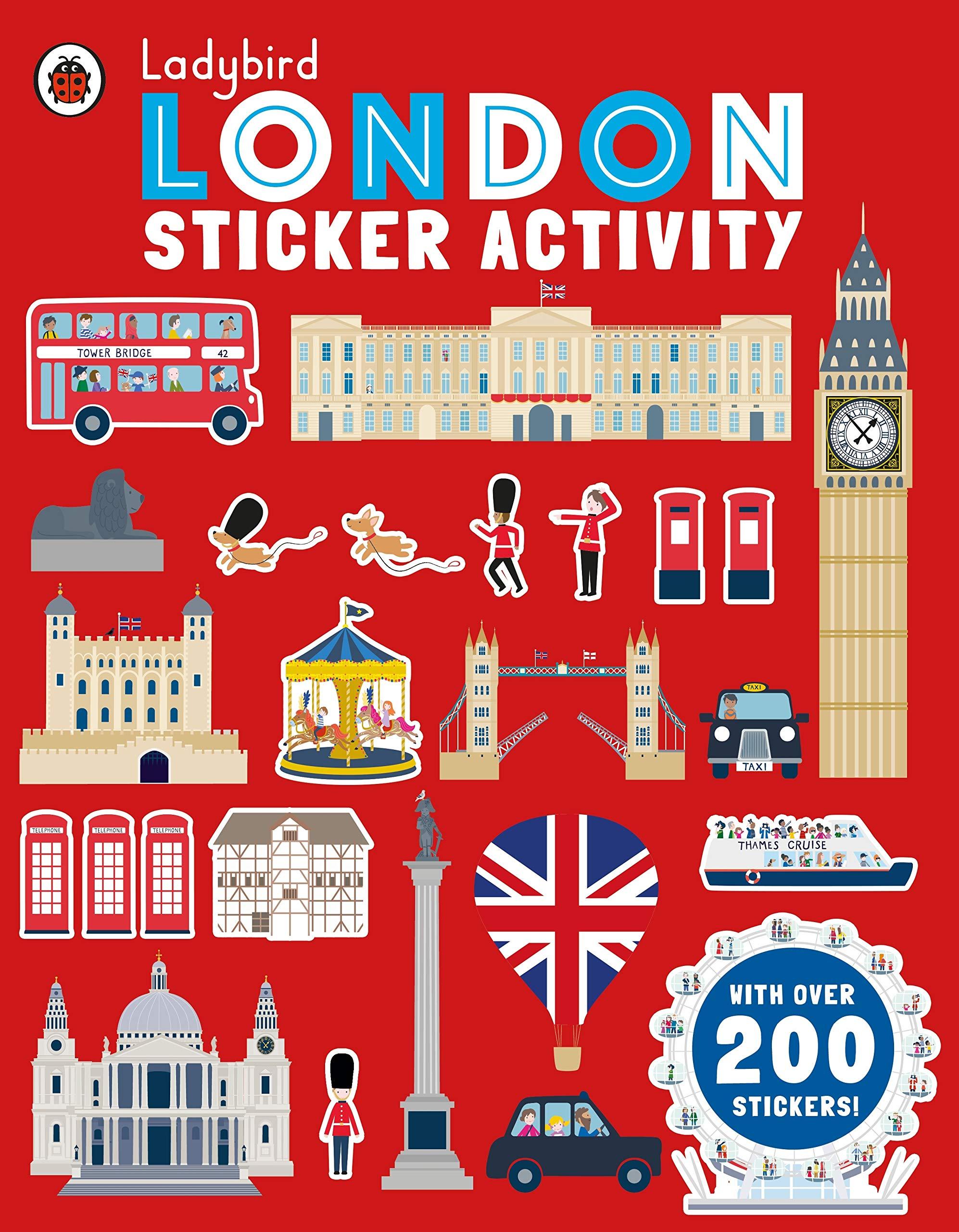Ladybird Sticker Activity. London [Idioma Inglés]