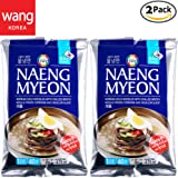 Korean Cold Noodles with Chilled Broth, Mul-naengmyeon [Surasang, Wang food] Instant Noodle Soup Made in Korea 6.73 oz each / Pack of 2