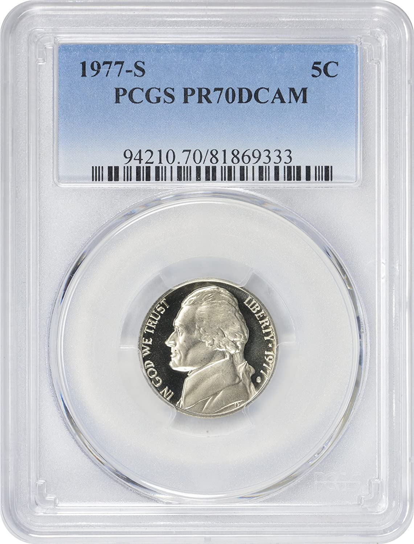 PR70DCAM 1987-S Jefferson Nickel PCGS