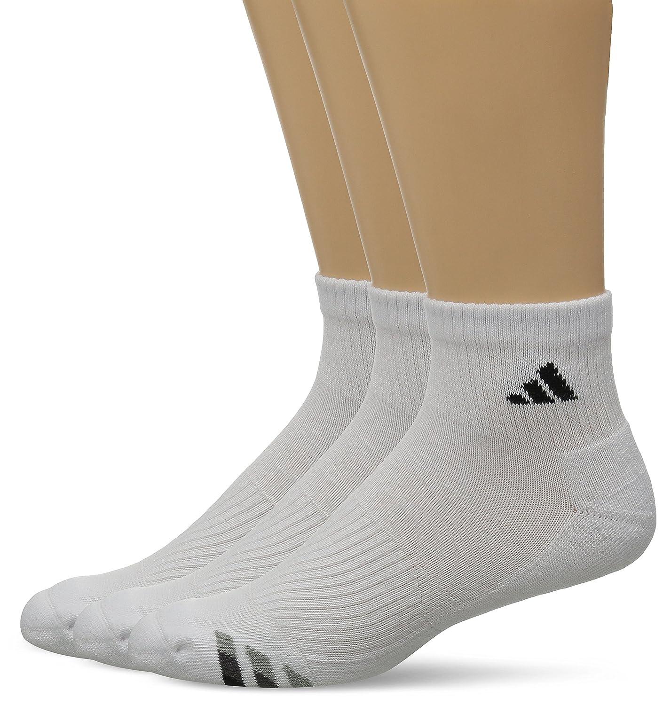 adidas Men's Cushioned Quarter Socks (Pack of 3) CJ0627-PARENT