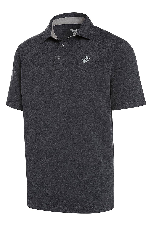 Amazon Jolt Gear Golf Shirts For Men Dry Fit Cotton Polo