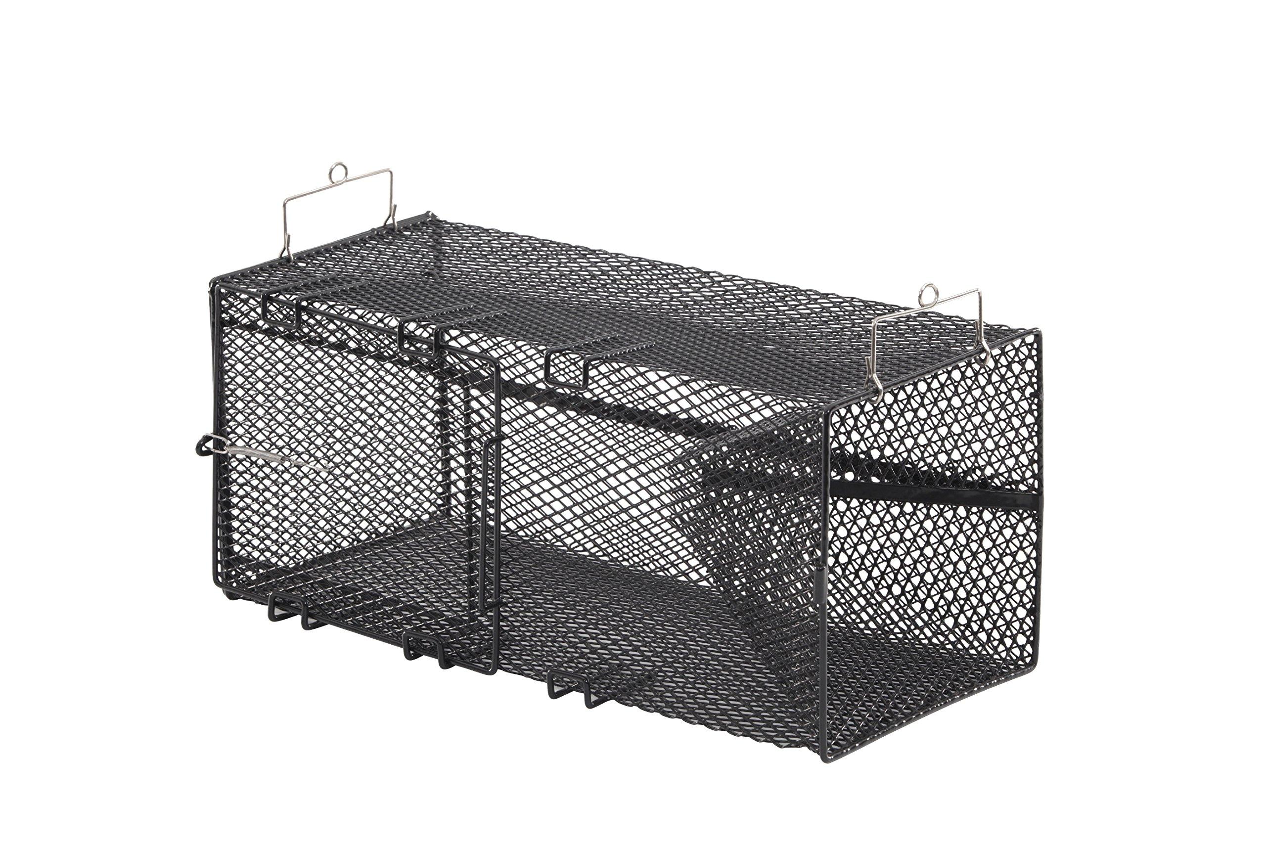 Frabill Minnow Trap, 8 x 8 x 18-Inch, Black