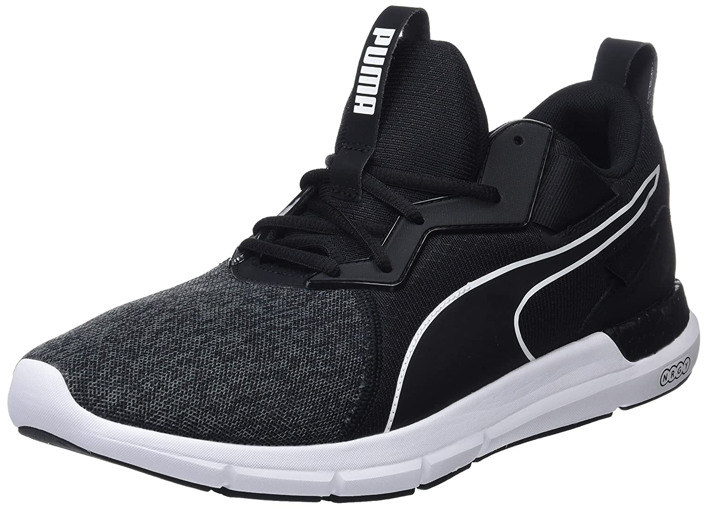 Puma Nrgy Dynamo Futuro, Zapatillas de Entrenamiento para Hombre 40 EU|Negro (Puma Black-puma White 03)