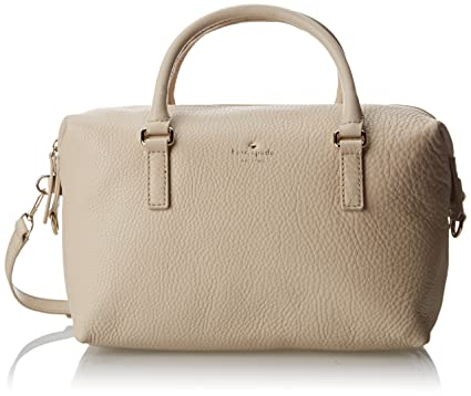 8566ba4300 Amazon.com  Kate Spade New York Henry Lane Emmy Satchel Ostrich Egg ...