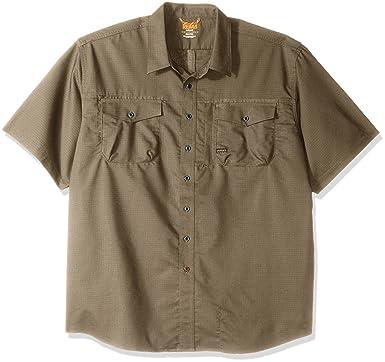 3b5e2d153a2b Amazon.com: Ariat Men's Big and Tall REBAR Short Sleeve Work Shirt,  Brindle, XXX-Large: Clothing