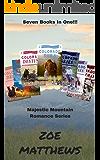 Majestic Mountain Romance Series:  Books One through Seven! (Clean Western Romances)