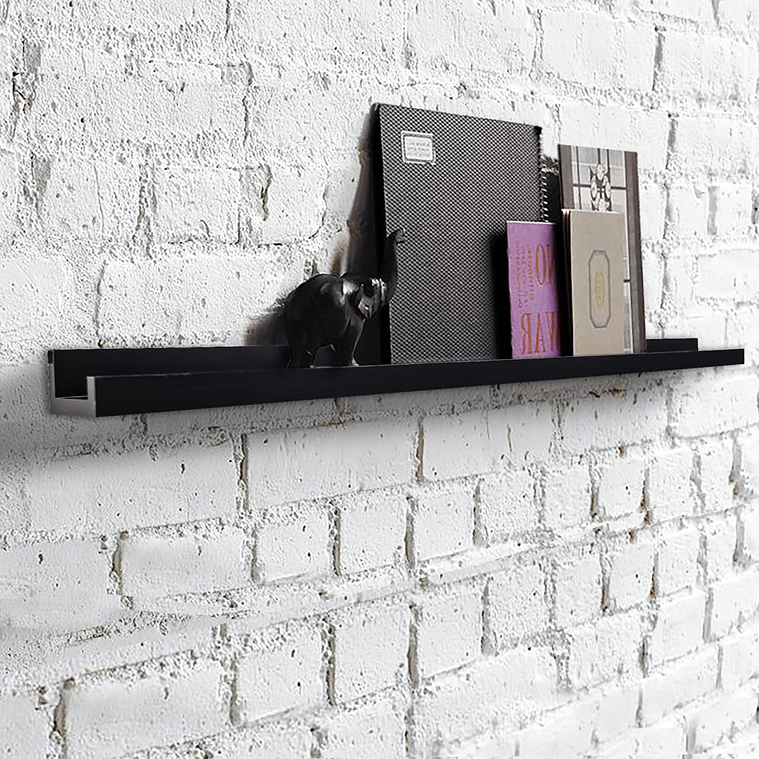 Amazon SHELVING SOLUTION L Shaped Floating Shelf Wall