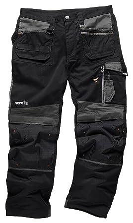 Noir Scruffs Pour Homme 3d De Sports Pantalon S Travail r0wA0aWUFq
