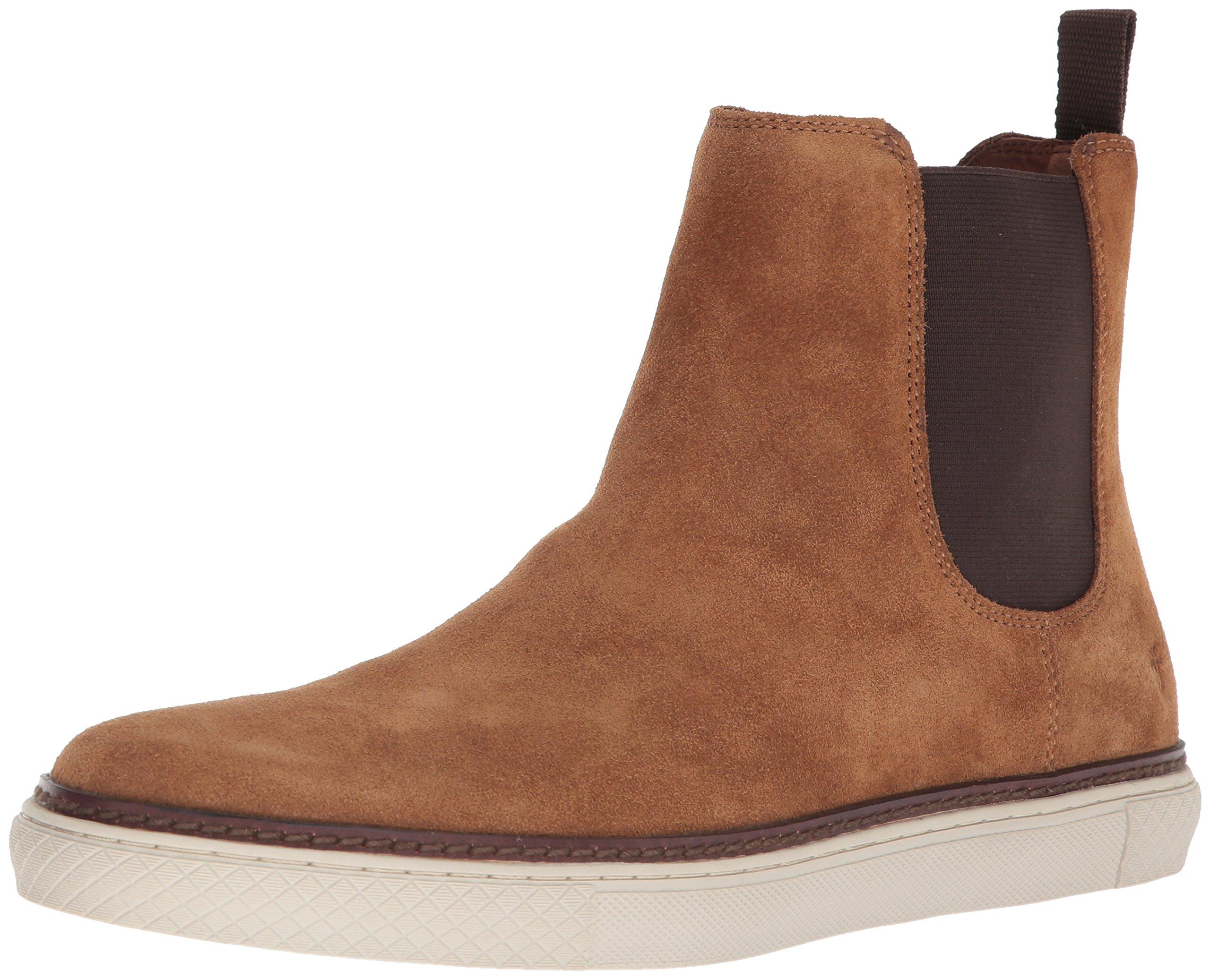 FRYE Men's Gates Chelsea Boot, Brown, 10.5 Medium US