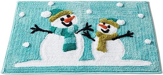 Blue Winter Friends Bath Rug SKL HOME by Saturday Knight Ltd