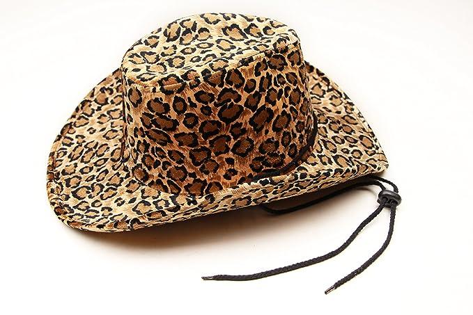 6357cff170 CAPTAIN FLOATY Captain Women Cowboy Hat Cowgirl   Horse Riding Hats Felt  Summer Drifter Leopard Print