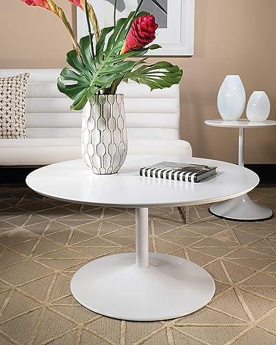 OSP Home Furnishings Flower Mid-Century
