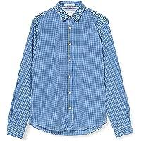 Springfield Popelin Cuadros Vichy-C/12, Camisa casual Hombre